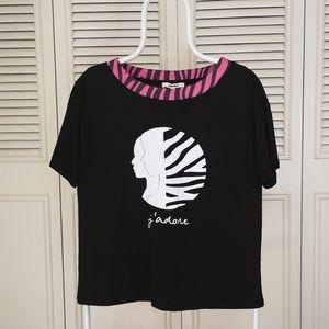 Women's branded design blouse